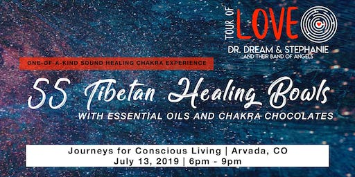 55 Tibetan Healing Bowls, Essential Oils & Chocolate Experience, Sound Healing, Arvada, CO