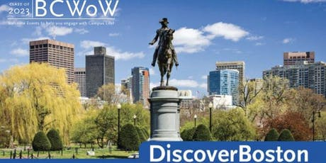 DiscoverBOSTON 2019 tickets