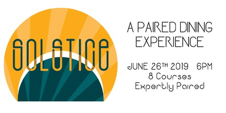 Solstice: A Paired Dining Experience tickets