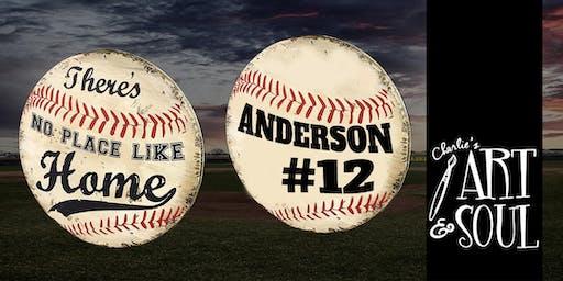 Charlie's Art Softball / Baseball Sign