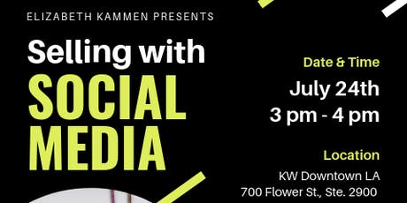 Selling With Social Media tickets
