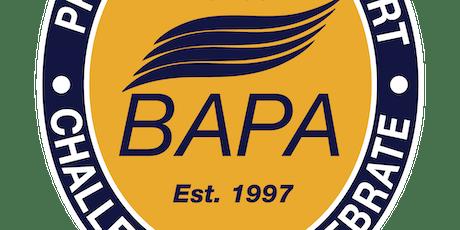 BAPA AGM tickets