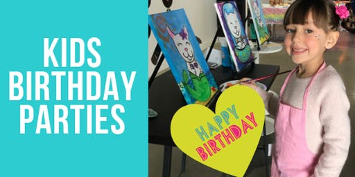 Birthday Party RSVP @ PopArts Studio - $50 Deposit to save the date