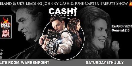 Cash Returns Skylite Room Warrenpoint tickets
