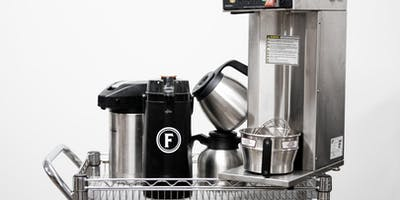 New-to-You Coffee Equipment Sale