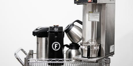 New-to-You Coffee Equipment Sale tickets
