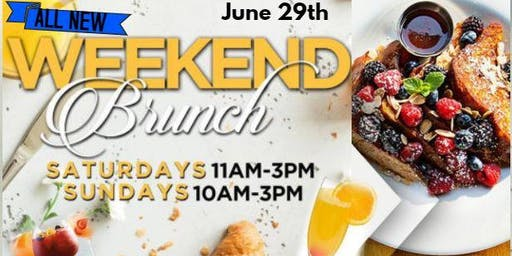 BAR LOUIE NEW WEEKEND BRUNCH MENU - EVERY SATURDAY AND SUNDAY - 11A-3P
