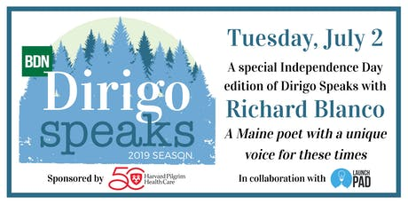 Dirigo Speaks: Richard Blanco tickets