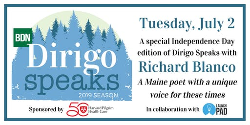 Dirigo Speaks: Richard Blanco