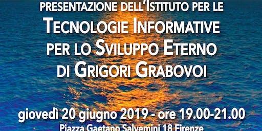 Presentazione dell'istituto per le tecnologie informative per lo sviluppo eterno di Grigori Grabovoi a cura di Angelo Vitale