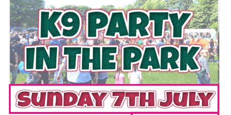K9 Party In The Park 2019 tickets