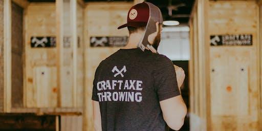 Open House- Craft Axe Throwing Greenville