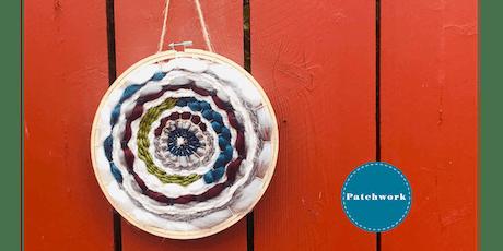 Patchwork Presents Hoop Weaving Wall Hanging Craft Workshop tickets
