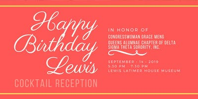 Happy Birthday Lewis Celebration 2019