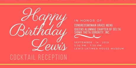 Happy Birthday Lewis Celebration 2019 tickets