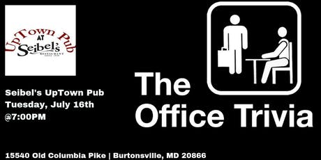 Office Trivia at Seibel's Restaurant and UpTown Pub tickets