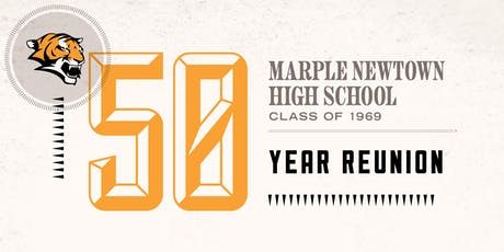 Marple Newtown High School 50th Reunion tickets