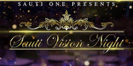 Sauti Vision night tickets