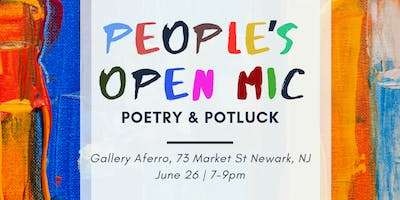 People's Open Mic (Poetry & Potluck)