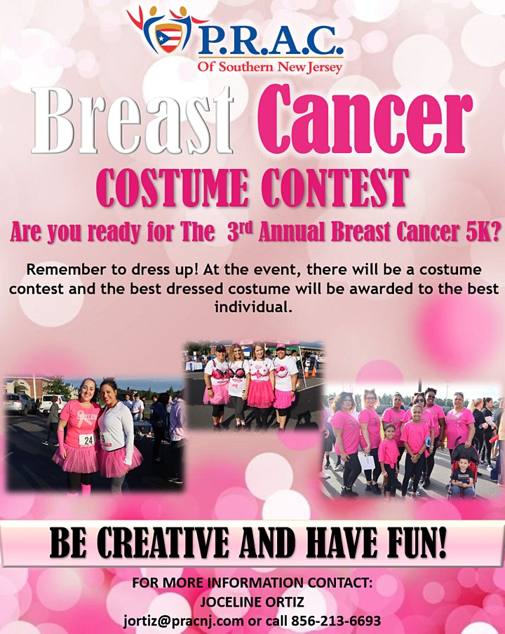 3rd Annual Breast Cancer 5K Walk/Run image