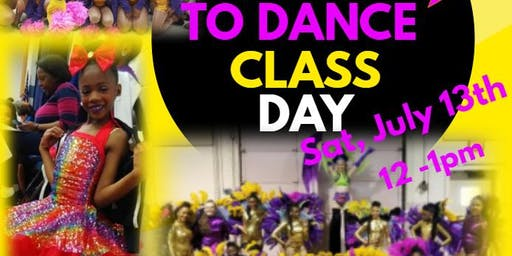 Free Dance Class Day- Divine Inspirations Center for the Arts