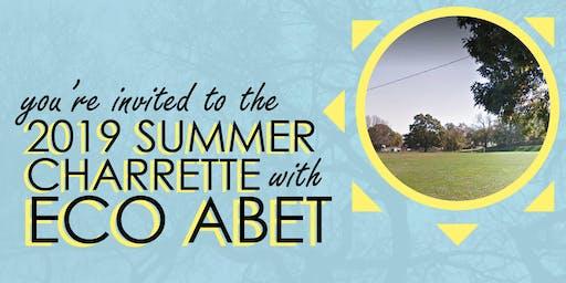 2019 Eco Abet Summer Charrette
