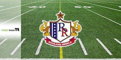 Richland vs Weatherford Varsity Football