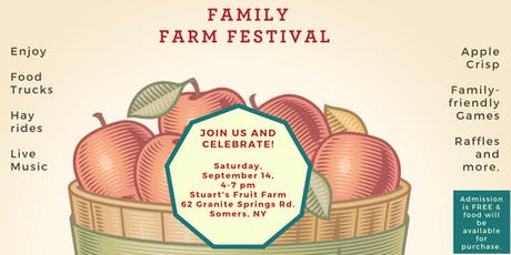 Family Farm Festival at Stuart's Fruit Farm tickets