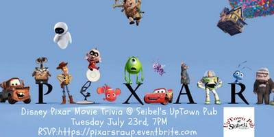 Disney Pixar Movie Trivia at Seibel's Restaurant and UpTown Pub
