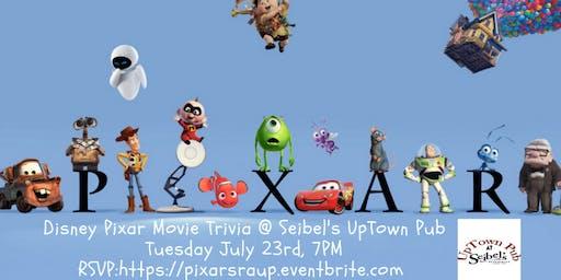 Disney Pixar Movie Trivia at Seibel's Restaurant and UpTown Pub