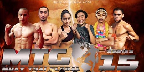Muay Thai Global 15 tickets