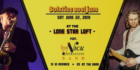 Solstice Soul Jam tickets