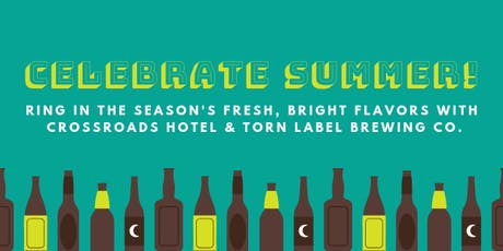 Torn Label Beer Dinner at Crossroads Hotel tickets