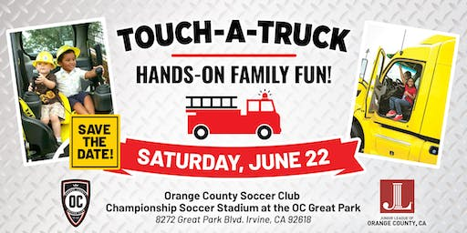 Touch - A - Truck with the Junior League of Orange County