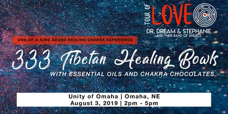 333 Tibetan Healing Bowls,Essential Oil & Raw Chocolate Experience, Sound Healing, Omaha, NE tickets