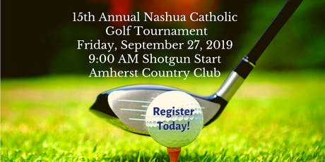 15th Annual Nashua Catholic Regional Junior High School Golf Tournament tickets
