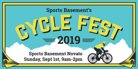 Sports Basement's Cycle Fest 2019 - Novato tickets