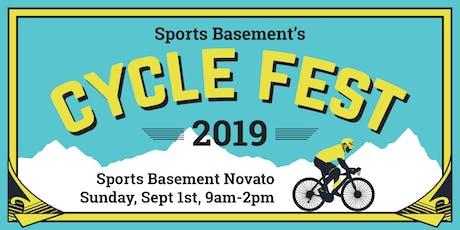 Sports Basement's Cycle Fest 2019 - Novato tickets
