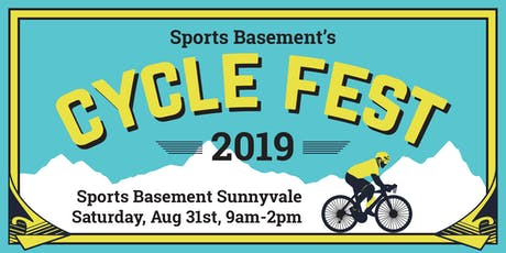 Sports Basement's Cycle Fest 2019 - Sunnyvale tickets
