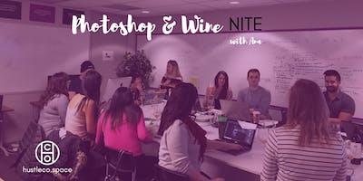 Photoshop & Wine Nite YYC