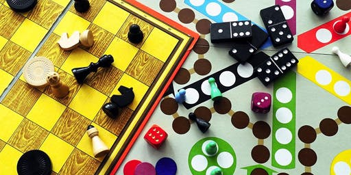 Family Game Night–Age 3 and up with an adult (1 registration per family)–Aug. 5