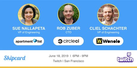 Apartment List, CircleCI & Wonolo Eng. leads on Building remote-first teams tickets