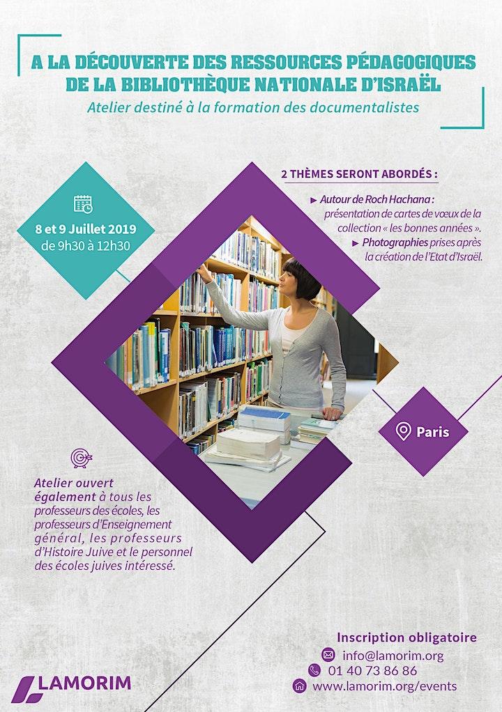 Image pour A la découverte des ressources  de la Bibliothèque Nationale d'Israël