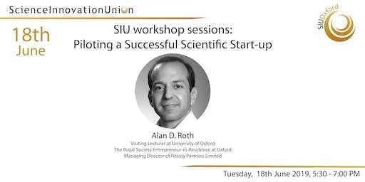 SIU Workshop Sessions: Piloting a Successful Scientific Start-up