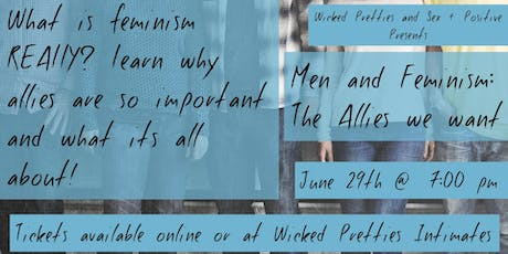 Men and Feminism: The Allies We Want tickets