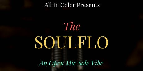 The SOULFLO tickets