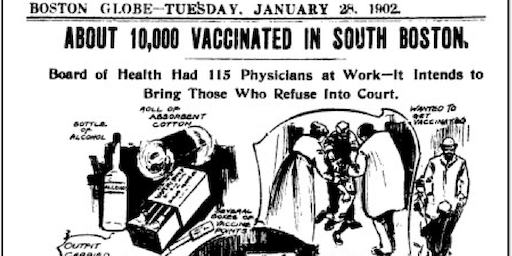 Old North Speaker Series: David Jones - Vaccination Controversies Then & Now