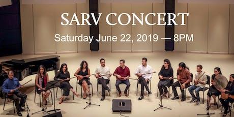 SARV Concert tickets