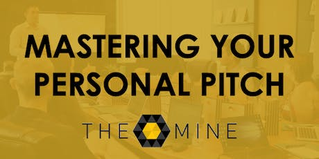 Mastering Your Personal Pitch tickets