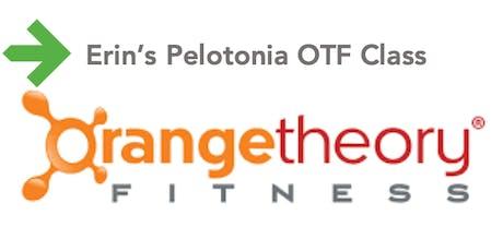 Erin's Pelotonia Orangetheory Class tickets